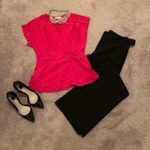 Hot pink top